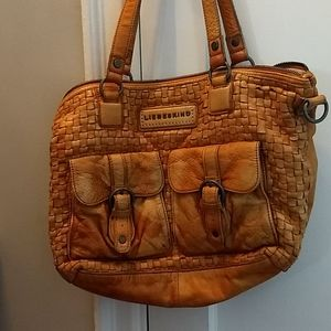 Gold liebeskind handbag!